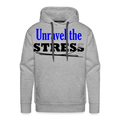 Unravel the Stress - Men's Premium Hoodie