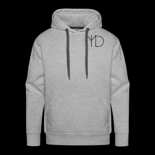 MLD Logo Classique - Molleton à capuche Premium pour homme