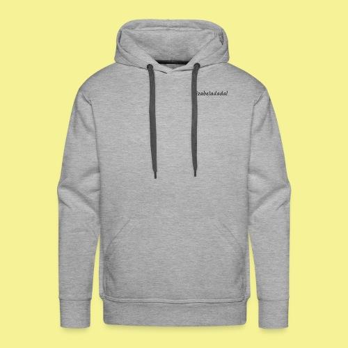 izabeladadal logo merch - Men's Premium Hoodie