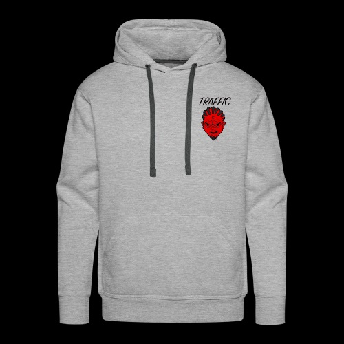Traffic Devil Face - Men's Premium Hoodie