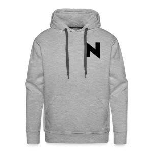 Throwback N Logo - Men's Premium Hoodie
