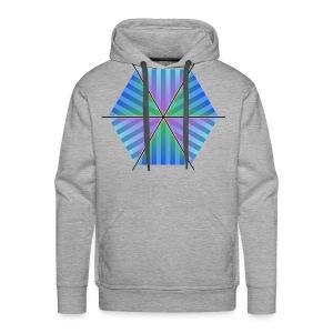 Hexagon of Eternality - Men's Premium Hoodie