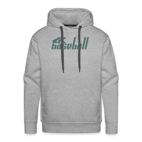 4kBaseball Logo - Men's Premium Hoodie