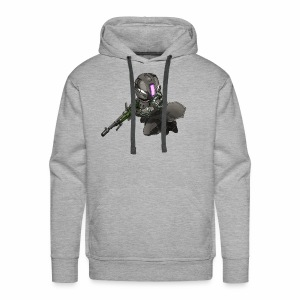 Whiskers with No Land - Men's Premium Hoodie