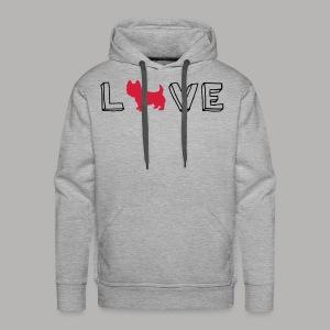 Westie Love - Men's Premium Hoodie