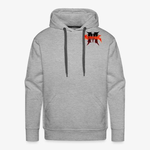 Metatoxic over Logo - Men's Premium Hoodie