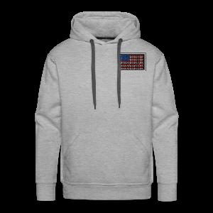 Mayo AMERICAN logo - Men's Premium Hoodie
