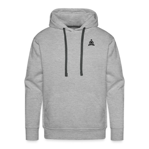 Black Evolution Logo - Men's Premium Hoodie