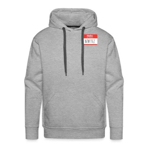 Benitez Name Tag - Men's Premium Hoodie