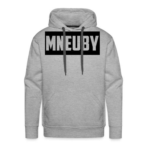 Mneuby Text Logo - Men's Premium Hoodie