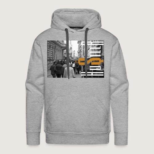 City of Hustle - Men's Premium Hoodie