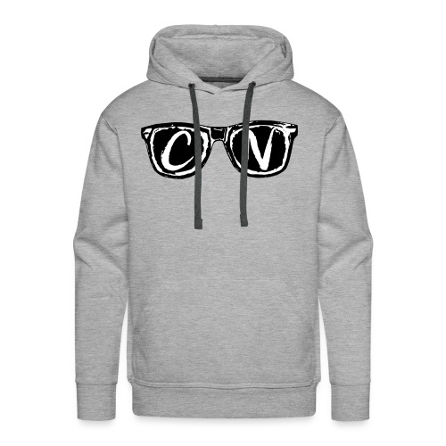 CN Black / White Signature Sunglasses - Men's Premium Hoodie