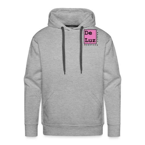 De Luz Coffee pink logo - Men's Premium Hoodie