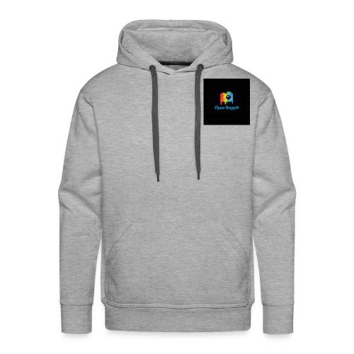 Chase Bennett logo - Men's Premium Hoodie