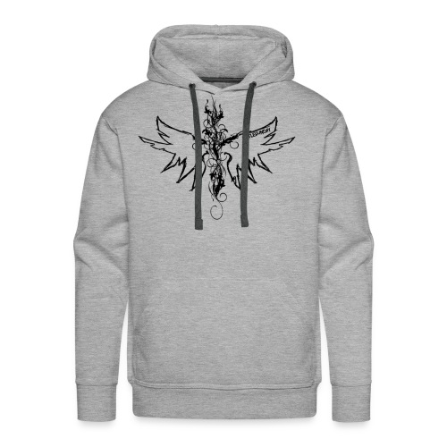 peace.love.good karma - Men's Premium Hoodie