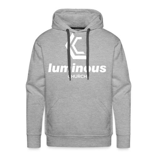 LUMINOUS LOGO - Men's Premium Hoodie
