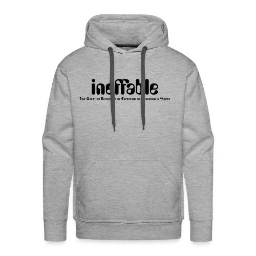 Ineffable great meaning - Men's Premium Hoodie
