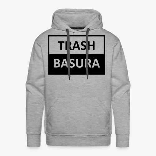 TRASH BASURA - Men's Premium Hoodie