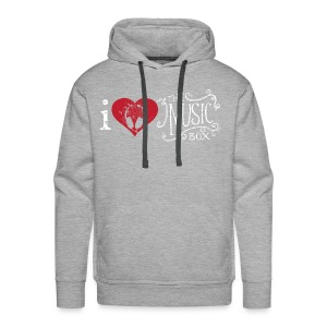 I love The Music Box! - Men's Premium Hoodie