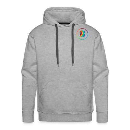 Tie Dye Logo - Men's Premium Hoodie