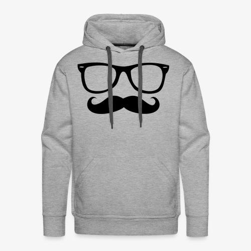 Hipster line - Men's Premium Hoodie