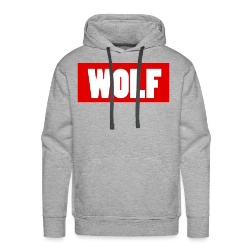 #Wolf - Men's Premium Hoodie