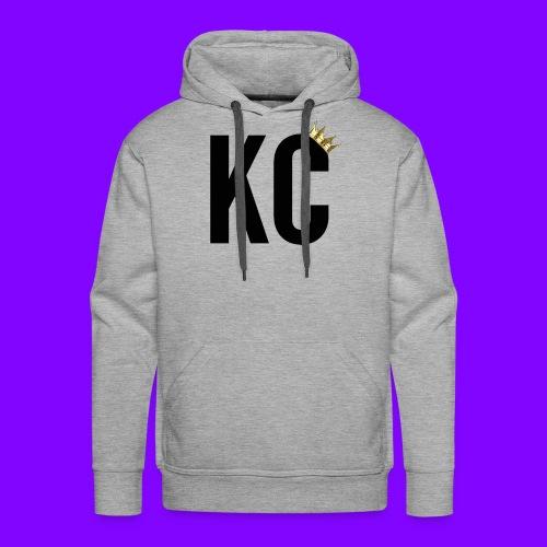 Black Font KC - Men's Premium Hoodie