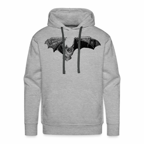 Tri-Colored Bat - Men's Premium Hoodie