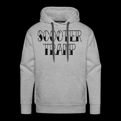 scootertrampblack - Men's Premium Hoodie
