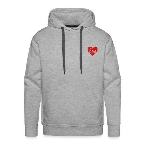 Love In My Heart - Men's Premium Hoodie