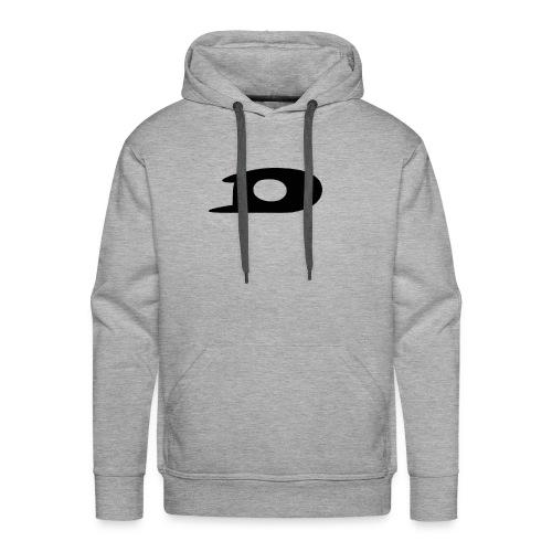 ORIGINAL BLACK DETONATOR LOGO - Men's Premium Hoodie