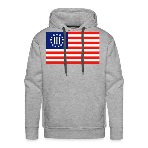 3 Percenters Flag - Men's Premium Hoodie