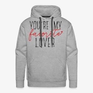 Favorite Lover - Men's Premium Hoodie