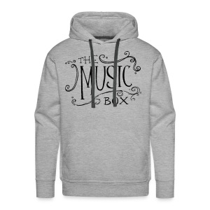 Black Music Box Logo - Men's Premium Hoodie