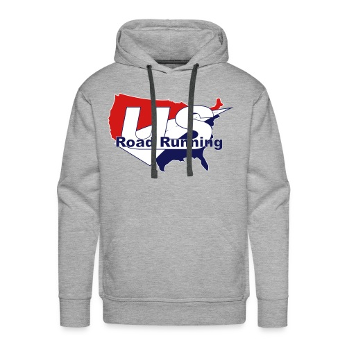 US Road Running Logo - Men's Premium Hoodie