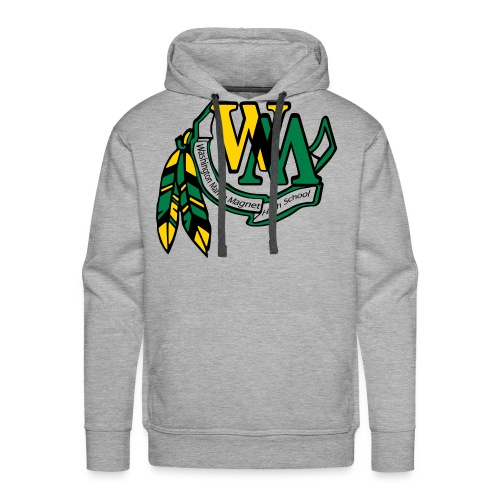 WMHS: Washington Marion Magnet High School - Men's Premium Hoodie