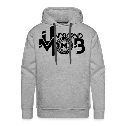 UMOB Black - Men's Premium Hoodie