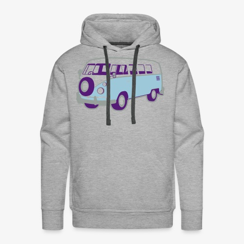 Surf surfers camper hippy surfbus - Men's Premium Hoodie