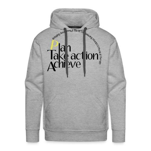 Plan-Take Action-Achieve - Men's Premium Hoodie