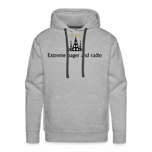 extreme pager and radio - Men's Premium Hoodie