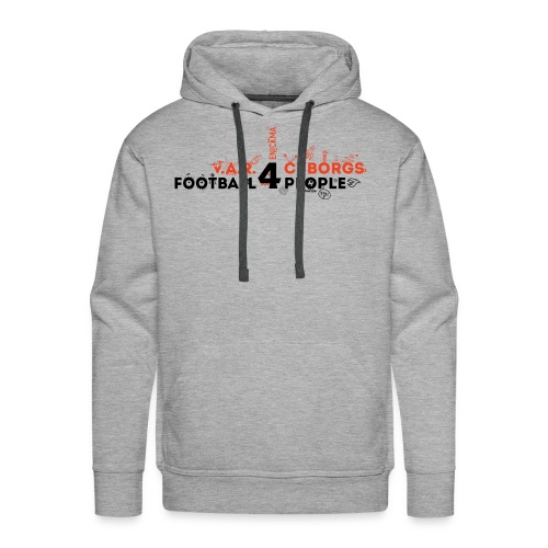 V.A.R. for Cyborgs. Football for People. - Men's Premium Hoodie