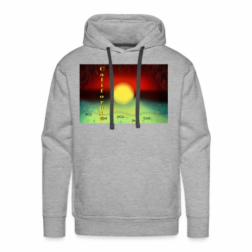 Sunset By Sea, California Product - Men's Premium Hoodie