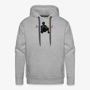 Rainbow DatBoiDJ Logo - Men's Premium Hoodie