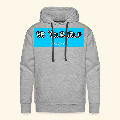 Be Yourself - Men's Premium Hoodie