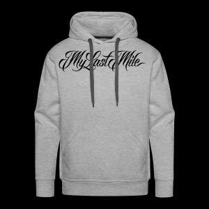 My Last Mile Merch - Black - Men's Premium Hoodie
