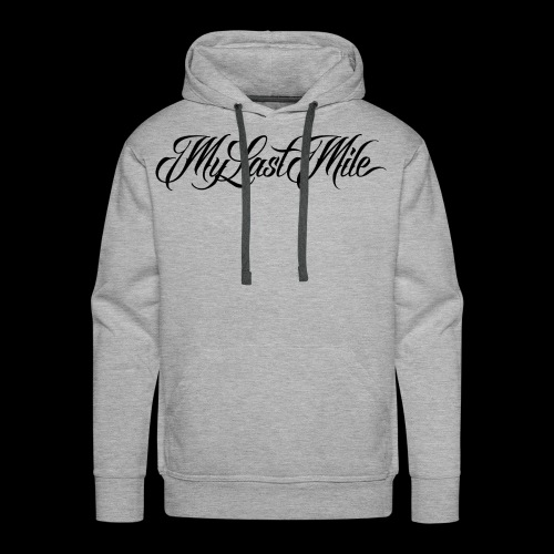 My Last Mile Merch - Black - Men's Premium Hoodie