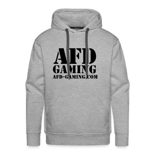 AFD GAMING Stencil Blk - Men's Premium Hoodie