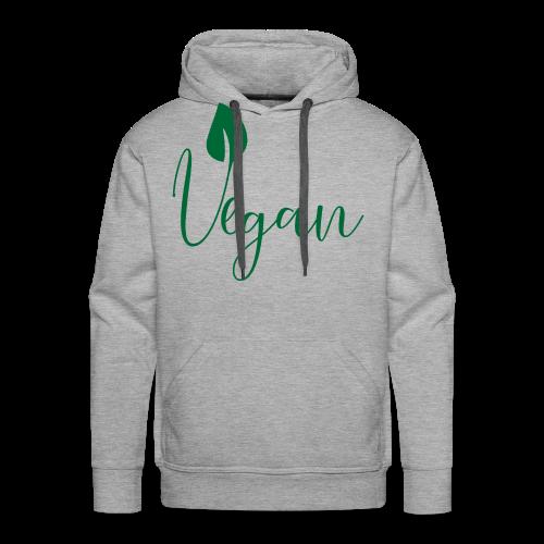 Vegan - Men's Premium Hoodie