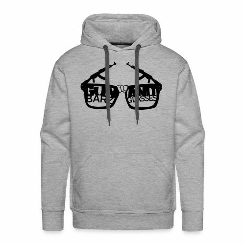 Gun Barz N Glasses - Men's Premium Hoodie