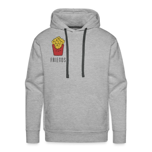 French fries best friends - Men's Premium Hoodie